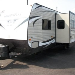 New 2018 Keystone Hideout 27DBS For Sale by COLUMBUS CAMPER & MARINE CENTER available in Columbus, Georgia