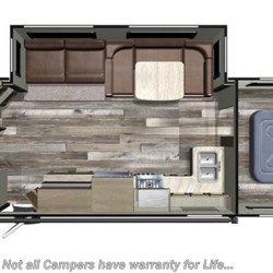 2019 Starcraft Launch Outfitter 283BH floorplan image