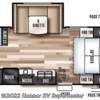 2017 Forest River Wildwood X-Lite 230BHXL floorplan image