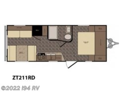 New 2016  CrossRoads Z-1 ZT211RD by CrossRoads from i94 RV in Wadsworth, IL