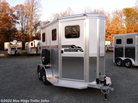 New 2018 River Valley 2H BP with no Dress For Sale by Blue Ridge Trailer Sales available in Ruckersville, Virginia