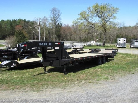 New 2019 Rice Trailers 14K Deckover 20+5 w/Center Pop-Up For Sale by Blue Ridge Trailer Sales available in Ruckersville, Virginia