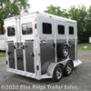 "2018 River Valley 2H BP with 3' Dress 7'6 x6'8""  - Horse Trailer New  in Ruckersville VA For Sale by Blue Ridge Trailer Sales call 434-985-4151 today for more info."