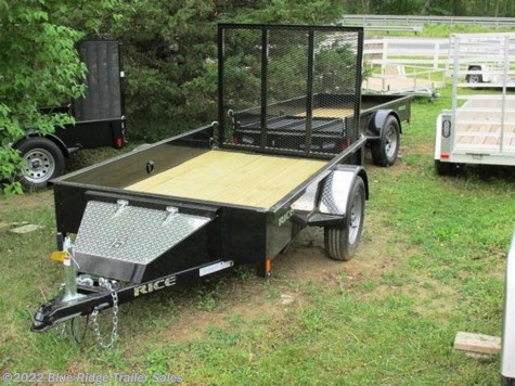 New 2018 Rice Trailers 5x8 SA Stealth For Sale by Blue Ridge Trailer Sales available in Ruckersville, Virginia