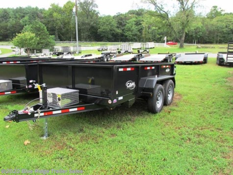 New 2019 CAM Superline 7x14 Low Pro Heavy Duty Dump 3-Way Gate For Sale by Blue Ridge Trailer Sales available in Ruckersville, Virginia
