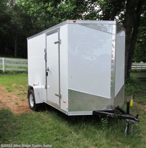 "New 2018 Royal Cargo 6x12 SA V-Nose 6'6"" tall W/ Rear Ramp For Sale by Blue Ridge Trailer Sales available in Ruckersville, Virginia"