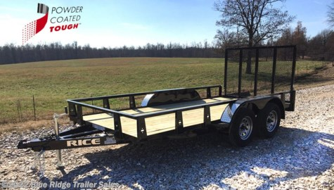 New 2018 Rice Trailers 7x14 TA Angle Open Side For Sale by Blue Ridge Trailer Sales available in Ruckersville, Virginia