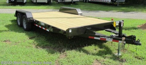 New 2019 CAM Superline 14 + 4 Wood Deck Car Hauler w/Removable Fenders For Sale by Blue Ridge Trailer Sales available in Ruckersville, Virginia