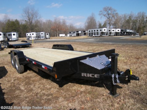 New 2019 Rice Trailers 20' Full Tilt 14K For Sale by Blue Ridge Trailer Sales available in Ruckersville, Virginia
