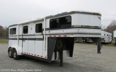"Used 2006 Hawk Trailers 2H GN w/6' Dress 7'6""x6'8\"" For Sale by Blue Ridge Trailer Sales available in Ruckersville, Virginia"