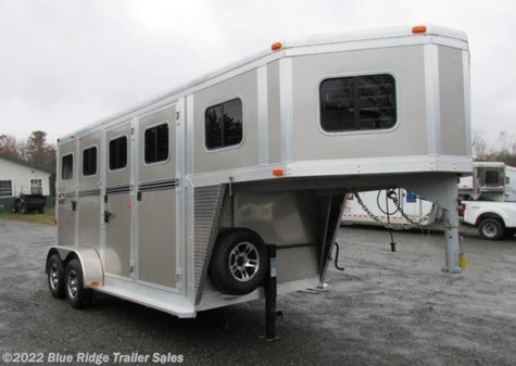 "Used 2019 River Valley 2 Horse GN Straight Load w Dress 7'6""x6'8\"" For Sale by Blue Ridge Trailer Sales available in Ruckersville, Virginia"