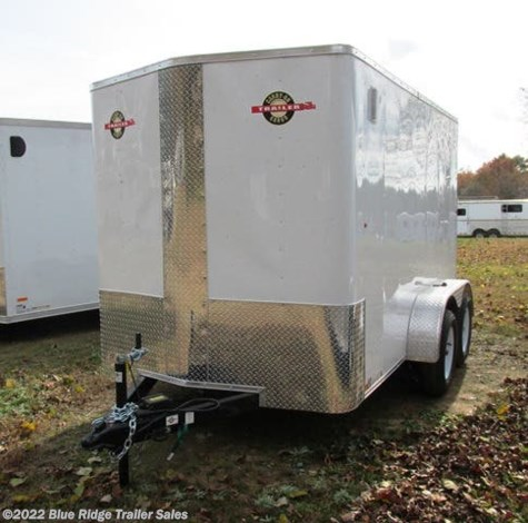 "New 2019 Carry-On 6x12 TA Bull Nose 6'6"" Tall, Ramp For Sale by Blue Ridge Trailer Sales available in Ruckersville, Virginia"