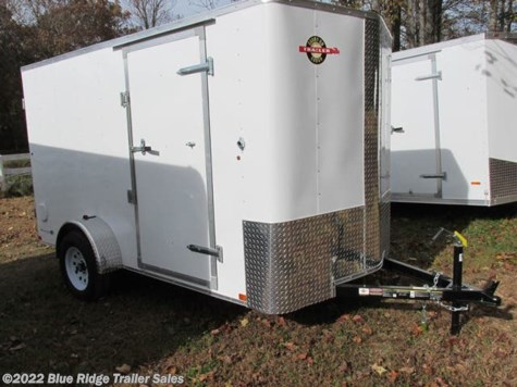 "New 2019 Carry-On 6x12 SA Bull Nose 6'6"" Tall Double Rear For Sale by Blue Ridge Trailer Sales available in Ruckersville, Virginia"