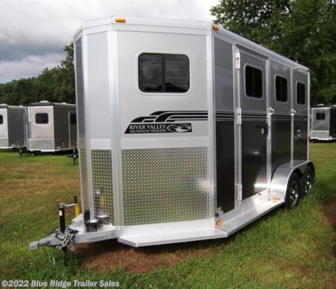 "New 2019 River Valley 2H BP w/5' Dress 7'6""x6'8\"" For Sale by Blue Ridge Trailer Sales available in Ruckersville, Virginia"