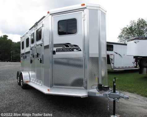 "New 2020 River Valley 2H BP w/dress and side ramp 7'6""x6'8\"" For Sale by Blue Ridge Trailer Sales available in Ruckersville, Virginia"