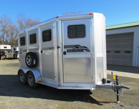 "New 2019 River Valley 2H BP with 3' Dress 7'6 x6'8"" For Sale by Blue Ridge Trailer Sales available in Ruckersville, Virginia"