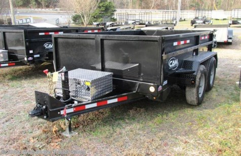 New 2019 CAM Superline 5CAM610LPD 6x10 12K 3 Way Gate w/Ramps For Sale by Blue Ridge Trailer Sales available in Ruckersville, Virginia