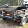Blue Ridge Trailer Sales 2019 5CAM610LPD 6x10 12K 3 Way Gate w/Ramps  Dump (Utility) by CAM Superline | Ruckersville, Virginia