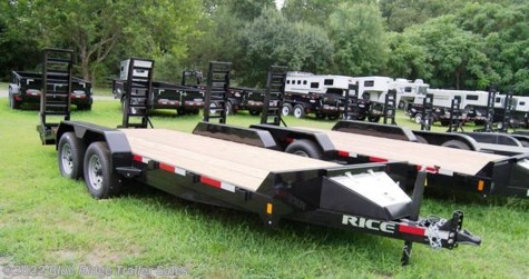 New 2019 Rice Trailers 16+2 10K Equipment Hauler For Sale by Blue Ridge Trailer Sales available in Ruckersville, Virginia