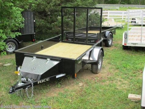 New 2020 Rice Trailers Stealth 5x8 SA  w/4' Gate For Sale by Blue Ridge Trailer Sales available in Ruckersville, Virginia