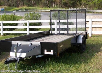 New 2020 Rice Trailers Stealth 6x12 SA w/4' Gate For Sale by Blue Ridge Trailer Sales available in Ruckersville, Virginia
