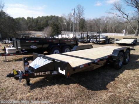 New 2019 Rice Trailers 16 + 4 14K Partial Tilt Robotic Series For Sale by Blue Ridge Trailer Sales available in Ruckersville, Virginia