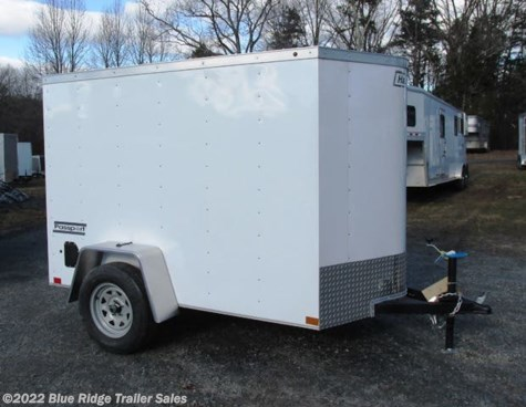 "New 2019 Haulmark Passport 5x8 5'6"" Tall with Rear Ramp For Sale by Blue Ridge Trailer Sales available in Ruckersville, Virginia"