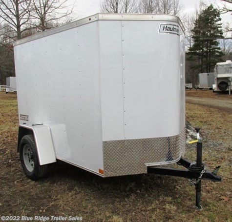 "New 2019 Haulmark Passport 5x8 5'6"" Tall Single Rear Door For Sale by Blue Ridge Trailer Sales available in Ruckersville, Virginia"
