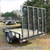 2019 Rice Trailers 6x12 Pipe Top SA w/5' Gate  - Utility Trailer New  in Ruckersville VA For Sale by Blue Ridge Trailer Sales call 434-985-4151 today for more info.