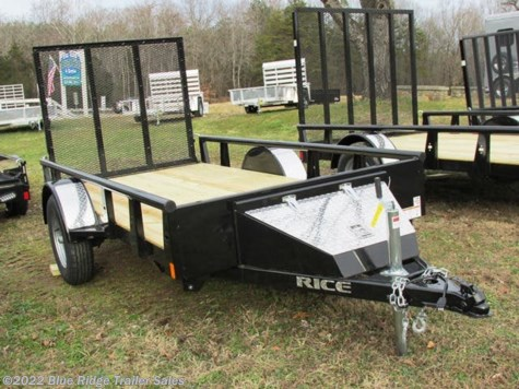 New 2019 Rice Trailers 5x10 Pipe Top w/4' Gate For Sale by Blue Ridge Trailer Sales available in Ruckersville, Virginia