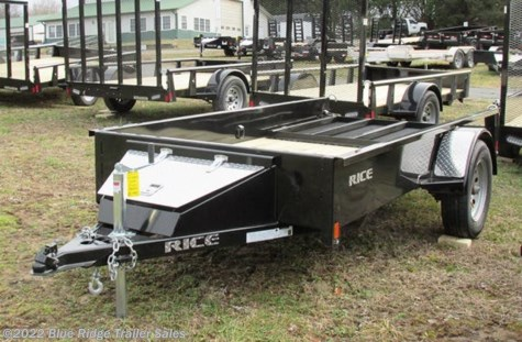 New 2019 Rice Trailers 5x10 Stealth w/4' Gate For Sale by Blue Ridge Trailer Sales available in Ruckersville, Virginia