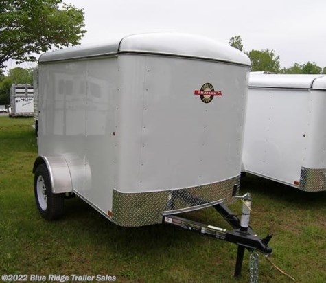 "New 2019 Carry-On 5x8 Economy Singe Rear Door 4'6"" Tall For Sale by Blue Ridge Trailer Sales available in Ruckersville, Virginia"