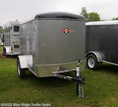 New 2019 Carry-On 5x8 Single Rear Door 5' Tall For Sale by Blue Ridge Trailer Sales available in Ruckersville, Virginia