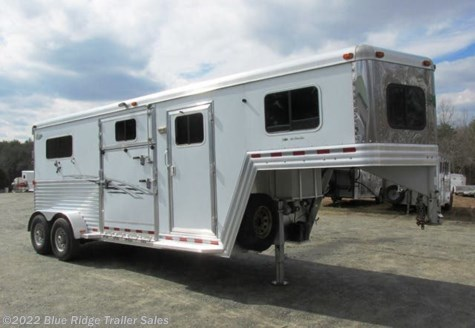 Used 2008 Dream Coach 2H GN Straightload with Side Ramp and Dress For Sale by Blue Ridge Trailer Sales available in Ruckersville, Virginia