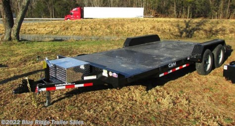 New 2019 CAM Superline 8K Car Hauler 14+4 Steel Deck Removable Fender For Sale by Blue Ridge Trailer Sales available in Ruckersville, Virginia