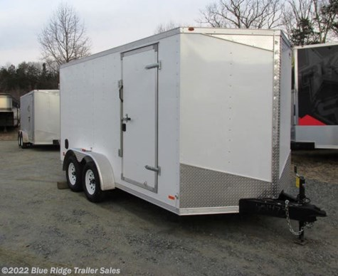 "New 2019 Royal Cargo 7x14 TA 6'6"" Tall Double Doors For Sale by Blue Ridge Trailer Sales available in Ruckersville, Virginia"