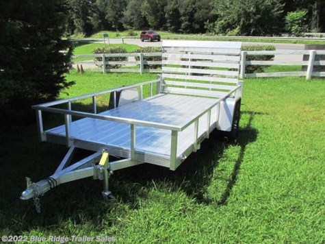 New 2020 Sport Haven AUT - D 7x14 Aluminum Deck Open Sides For Sale by Blue Ridge Trailer Sales available in Ruckersville, Virginia