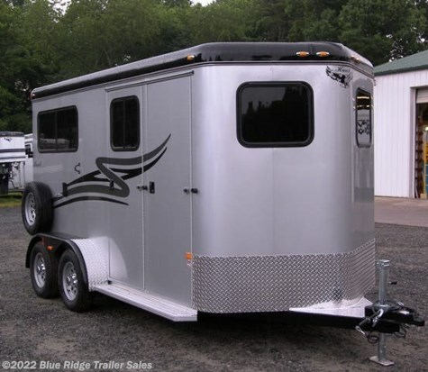 "New 2019 Hawk Trailers 2H BP w/Dress 7'6"" x 6'8\"" For Sale by Blue Ridge Trailer Sales available in Ruckersville, Virginia"