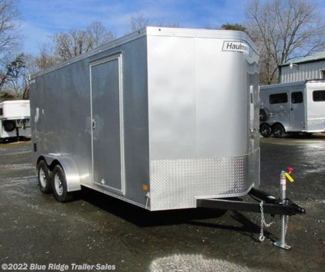 "New 2019 Haulmark Transport 7x16 TA  6'6"" Tall Rear Ramp For Sale by Blue Ridge Trailer Sales available in Ruckersville, Virginia"
