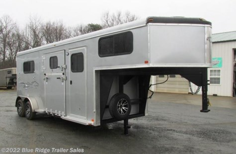 "New 2019 Homesteader Stallion 2H GN w/Side Ramp and Dress 7'8""x7' For Sale by Blue Ridge Trailer Sales available in Ruckersville, Virginia"