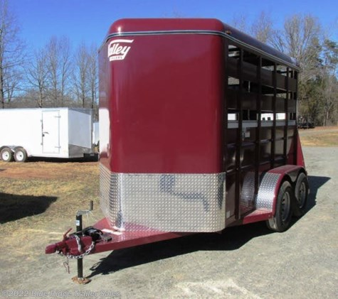 "New 2020 Valley Trailers 12' 2H BP no Dress 7'6""x6' For Sale by Blue Ridge Trailer Sales available in Ruckersville, Virginia"