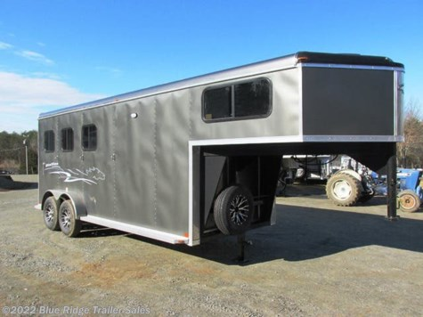 "New 2019 Homesteader Stallion 3H GN Slant Load 7'8""x7' Insulated Walls & Roof For Sale by Blue Ridge Trailer Sales available in Ruckersville, Virginia"