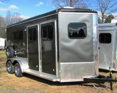 "New 2019 Homesteader Stallion 2H BP w/Dress 7'8""x7' Diamond Package For Sale by Blue Ridge Trailer Sales available in Ruckersville, Virginia"