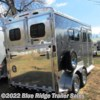 "Blue Ridge Trailer Sales 2019 Stallion 2H BP w/Dress 7'8""x7' Diamond Package  Horse Trailer by Homesteader 