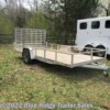 2018 Sport Haven AUT Slightly USED 7x14 Open Sides  - Utility Trailer Used  in Ruckersville VA For Sale by Blue Ridge Trailer Sales call 434-985-4151 today for more info.
