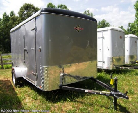 "New 2019 Carry-On 6x10 Silver, 6'6"" tall with Ramp For Sale by Blue Ridge Trailer Sales available in Ruckersville, Virginia"