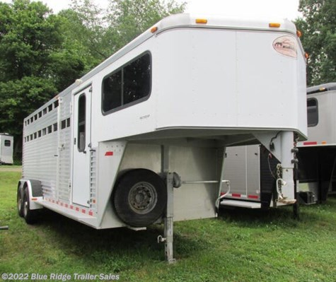 "Used 2001 Sundowner ProStock 20' GN w/4' Dress 7'x6'9"" 1 Cut Gate For Sale by Blue Ridge Trailer Sales available in Ruckersville, Virginia"