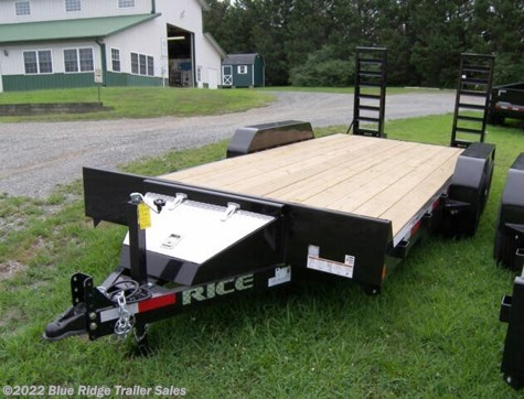 New 2020 Rice Trailers Magnum 14K 18+2 Equipment Hauler For Sale by Blue Ridge Trailer Sales available in Ruckersville, Virginia