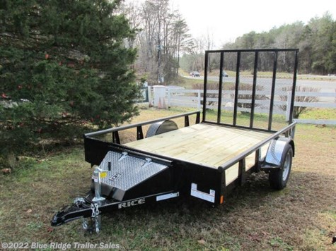 New 2020 Rice Trailers 6x14 Pipe Top 6x14 with 5' Gate For Sale by Blue Ridge Trailer Sales available in Ruckersville, Virginia