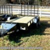 2020 Rice Trailers 7x16 Pipe Top with 5' Gate  - Landscape Trailer New  in Ruckersville VA For Sale by Blue Ridge Trailer Sales call 434-985-4151 today for more info.